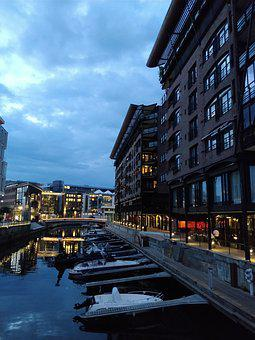 Oslo, Tjuvholmen, Architecture, Modern, Home, Balcony