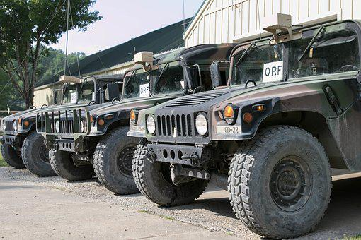 Humvee, Army, Movement, Vehicle, Standard
