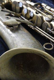 Saxophone, Music, Jazz, Instrument, Musical Instrument