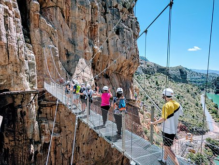 Path Of The King, Caminito Del Rey, Malaga, Landscape