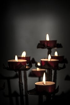 Church, Candles, Votive, Religion, Religious, Light