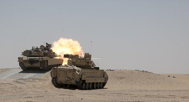 M1a2 Abrams, United States Army, Tank, Live-fire