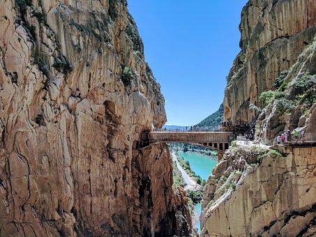 Path Of The King, Caminito Del Rey, Malaga, Landscape