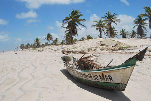 Mangue Seco, Bahia, Boat, Beach, Litoral, Tourism