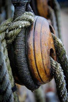 Boat, Rigging, Rope, Dead Mans Eye, Ship, Marine