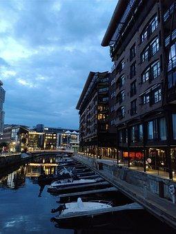 Oslo, Tjuvholmen, Architecture, Modern, House, Balcony