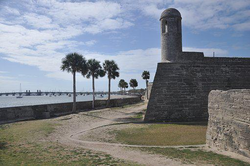 Castillo De San Marco, Fort, St Augustine, Castle, Old