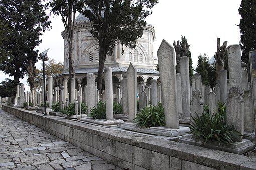Tomb, Istanbul, Stone, Turkey, Sultanahmet, Old, Travel