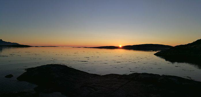 Silence, Tranquil, Summer, Sun, Sunset, Peaceful