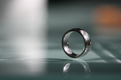 Wedding Ring, Ring, Silver, Wedding Rings, Wedding