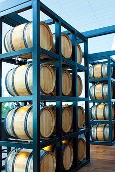 Wine, Wine Barrel, Wooden Barrels, Stock, Winemaker