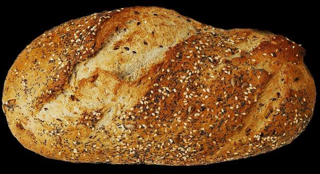 Bread, Grain Bread, Loaf Of Bread, Loaf, Crispy, Baked