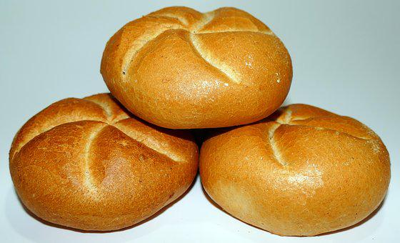 Roll, Kaiser Roll, Breakfast, Crispy, Delicious, Crust