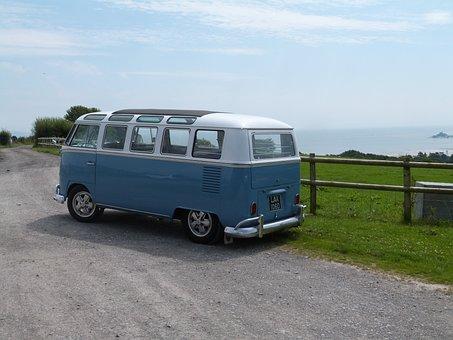 Vw, Bus, Vehicle, Car, Van, Vintage, Travel, Retro