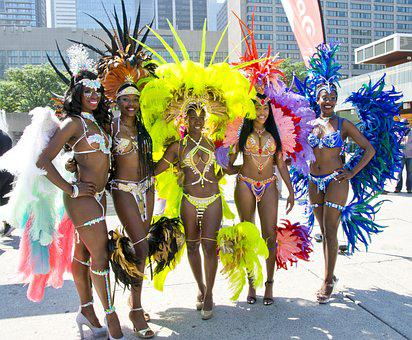 Toronto Caribbean Festival, Caribana, Women, Pretty