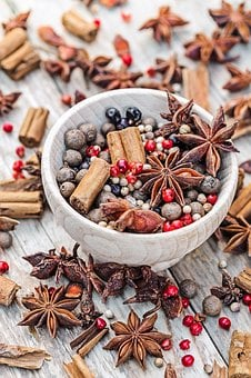 Spice, Bowl, Cinnamon, Food, Cuisine, Organic, Pepper