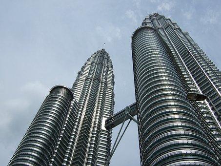 Building, Malaysia, Asia, Skyscraper, Travel, Cityscape