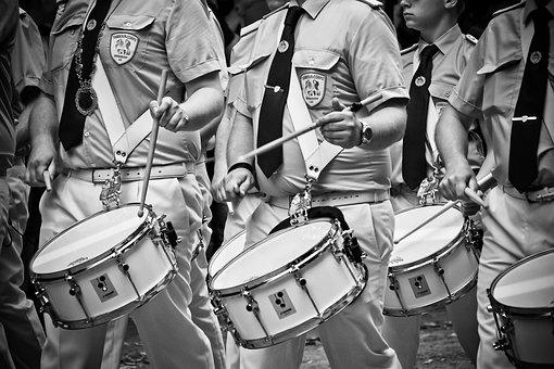 Drummer, Drum, Music, Instrument, Musician