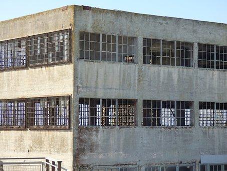 Alcatraz, San Francisco, Abandoned Building, Jailhouse