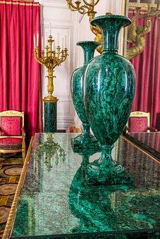Travel, Old, Architecture, Design, Gold, Vase, Lamp