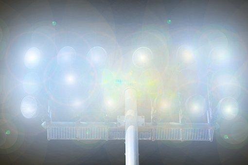 Flood Light, Lighting, Stadium, Light, Lamps, Football