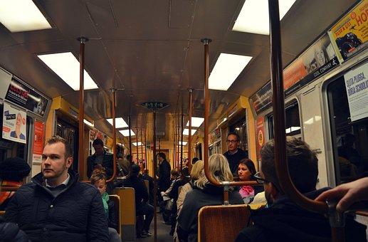 Stockholm, Subway, Passengers, Sweden, Urban, Metro