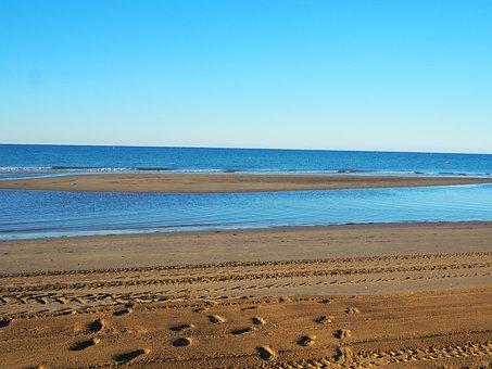 Sea, Ebb, Beach, Most Beach, Wave, Water, Sand Beach