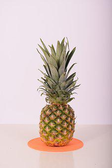 Pineapple, Fruit, Tropical Fruit, Food