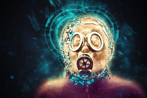 Mask, Post Apocalyptic, Danger, Doomsday, Armageddon