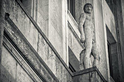 Facade, Statue, Sculpture, Ornament, Figure