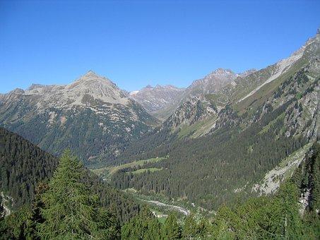 Graubünden, Switzerland, St Moritz, Engadin, Mountains