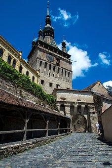 Sigishoara, Sighisoara, Romania, The Clock Tower