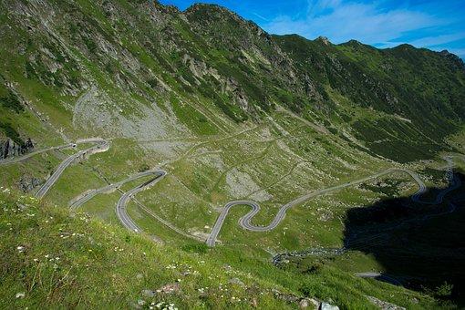 Romania, Transfagarasan, Mountain World, Flyover