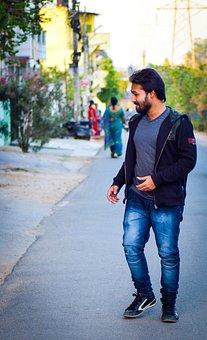 Lost, Alone, Walk, Happy, Street