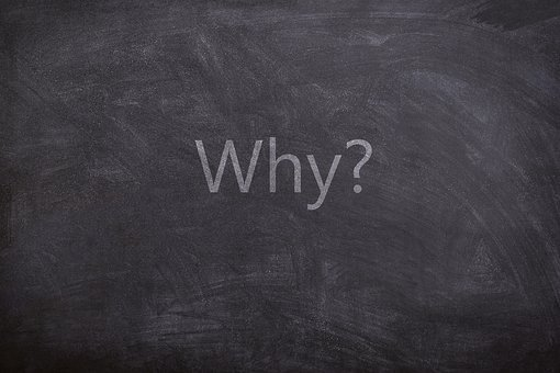 Why, Questions, Text, Chalkboard, Texture, White