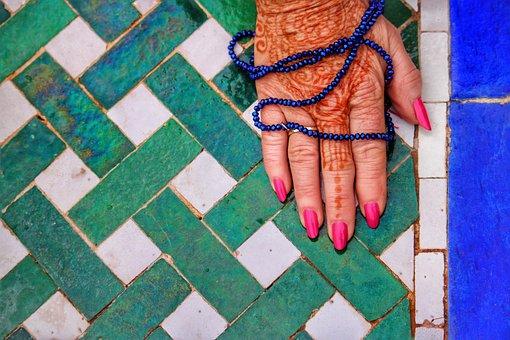 Henna, Lady, Female, Indian, Girl, Woman, Fashion