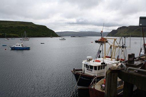 Portree, Skye, Port, Port Motifs, Britannia, Scotland