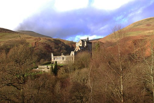 Castle, Campbell, Landscape, Tourism, Scotland
