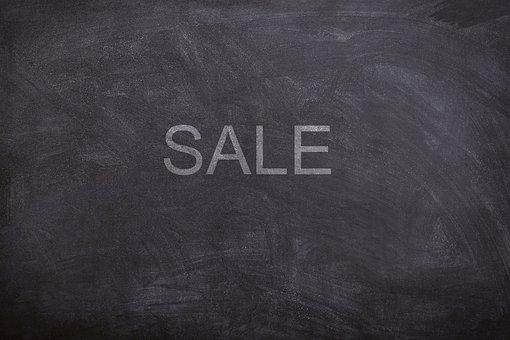 Sale, Chalk, Board, Blackboard, Chalkboard, Texture