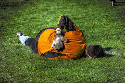 Goalkeeper, Football, Sport, Footballers, Ball Game