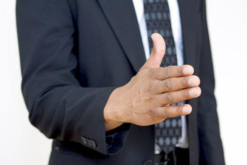 Hand, Business, Gesture, Man, Welcome, Greeting