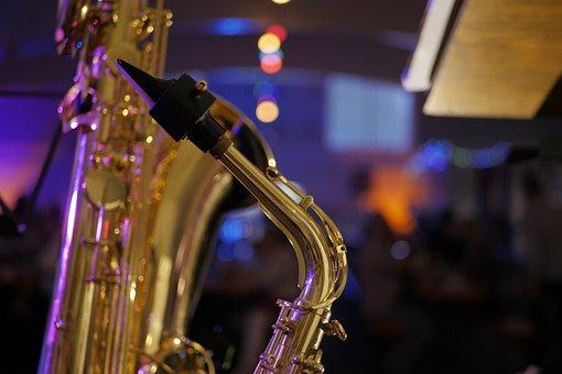 Saxophone, Instrument, Jazz, Wind Instrument, Big Band