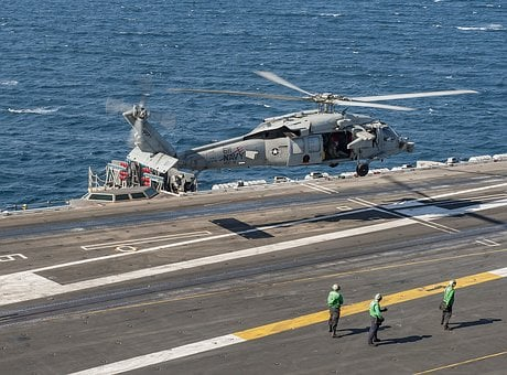 Mh-60s Seahawk, Usn, United States Navy, Helicopter