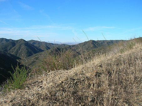Santa Monica, Mountains, California, Usa, Hiking