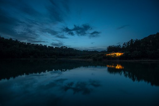 Home, Nature, Clouds, Turkey, Lake, Reflection, Blue