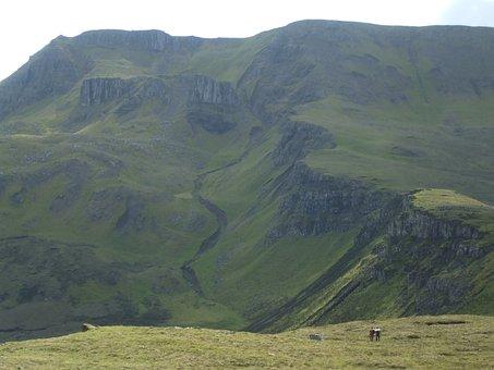 Trotternish, Ridge, Backpacking, Scotland, Landscape
