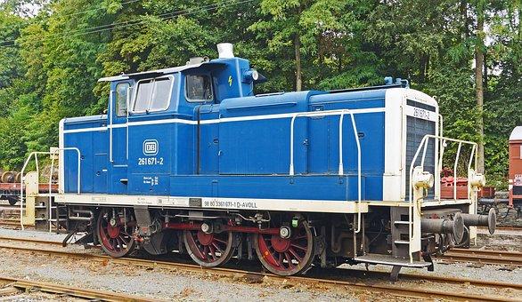 Diesel Locomotive, V60, V 60, Deutsche Bundesbahn