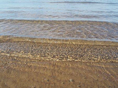 Sea, Wave, Beach, Water, Wave Breaking, Sand Beach