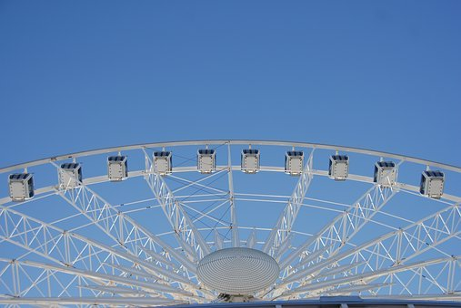 Ferris Wheel, Amusement, Wheel, Park, Fun, Ferris