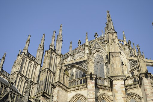 Gothic, Cathedral, Flying Buttresses